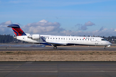 Delta Connection-SkyWest Airlines Bombardier CRJ700 (CL-600-2C10) N765SK (msn 10231) SEA (Michael B. Ing). Image: 943073.
