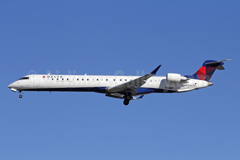 Delta Connection-SkyWest Airlines Bombardier CRJ900 (CL-600-2D24) N815SK (msn 15101) LAX (Michael B. Ing). Image: 910134.