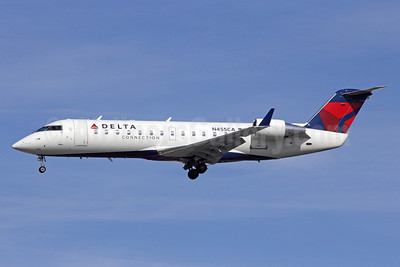 Delta Connection-SkyWest Airlines Bombardier CRJ200 (CL-600-2B19) N455CA (msn 7592) LAX (Michael B. Ing). Image: 908982.