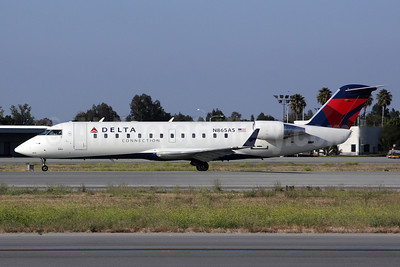 Delta Connection-SkyWest Airlines Bombardier CRJ200 (CL-600-2B19) N865AS (msn 7507) LGB (Michael B. Ing). Image: 908818.