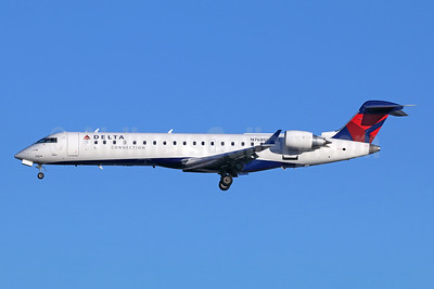 Delta Connection-SkyWest Airlines Bombardier CRJ700 (CL-600-2C10) N768SK (msn 10234) SEA (Michael B. Ing). Image: 943074.