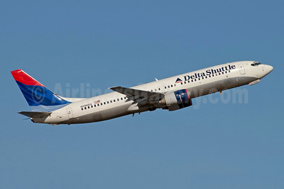 Delta Shuttle (Delta Air Lines) Boeing 737-832 N396DA (msn 30378) LGA (Fred Freketic). Image: 949831.