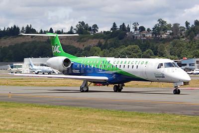 Denver Air Connection - DAC (Key Lime Air) Embraer ERJ 145LR (EMB-145LR) N970DC (msn 14500837) BFI (Joe G. Walker). Image: 952452.