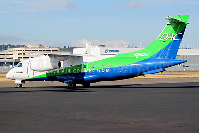 Denver Air Connection - DAC (Key Lime Air) Dornier 328-300 (328JET) N395DC (msn 3178) BFI (Joe G. Walker). Image: 939505.