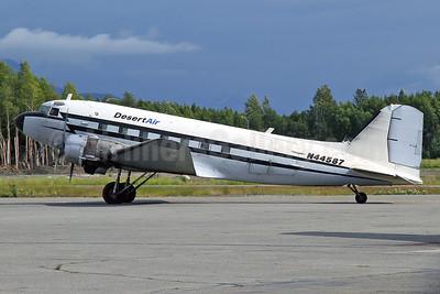 Desert Air Transport Douglas C-47A-DK (DC-3) N44587 (msn 12857) ANC (Keith Burton). Image: 924978.