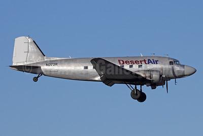 Desert Air Transport Douglas C-47A-DK (DC-3) N272R (msn 13678) ANC (Michael B. Ing). Image: 925056.