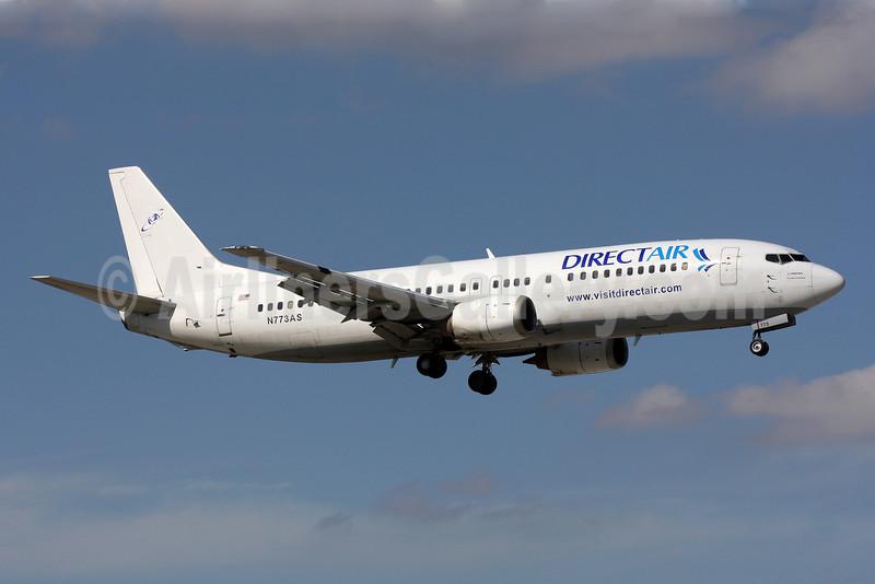 Direct Air-Sky King Boeing 737-4Q8 N773AS (msn 25106) MIA (Brian McDonough). Image: 905934.