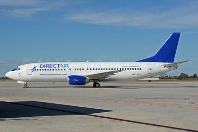 DirectAir-Xtra Airways Boeing 737-4Q8 N279AD (msn 26279) (Air Dominicana colors) PGD (Jeffrey S. DeVore). Image: 904490.