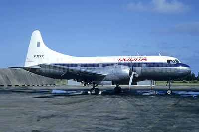 Dodita Air Cargo Convair VT-29B-CO (240) N355T (msn 281) SJU (Christian Volpati Collection). Image: 952644.