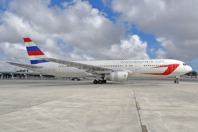 Dynamic Airways 767-300 with Paraguay Airlines tail colors