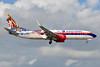 "Swift Air's 2017 US-Cuban ""graffiti flag"" design"