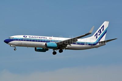 Eastern Air Lines (2nd) Boeing 737-8CX WL N277EA (msn 32359) MIA (Jay Selman). Image: 402999.