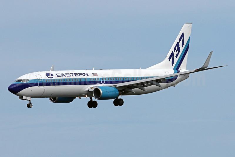 Eastern Air Lines (2nd) Boeing 737-8CX WL N277EA (msn 32359) MIA (Brian McDonough). Image: 931808.
