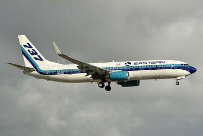 Eastern Air Lines (2nd) Boeing 737-85P WL N280EA (msn 33982) MIA (Ken Petersen). Image: 936545.