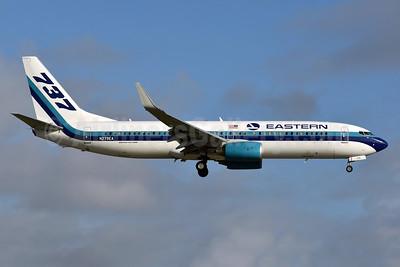 Eastern Air Lines (2nd) Boeing 737-86J WL N279EA (msn 36881) MIA (Ken Petersen). Image: 936544.