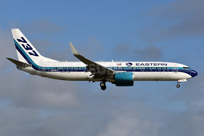 Eastern Air Lines (2nd) Boeing 737-86J WL N279EA (msn 36881) MIA (Ken Petersen). Image: 936544.
