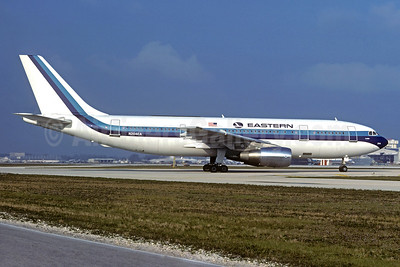 Eastern's first A300, delivered on August 24, 1977