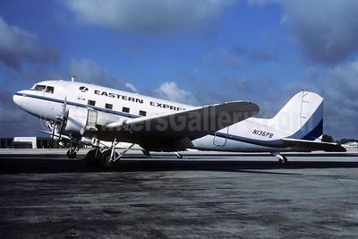 Eastern Express (PBA) Douglas DC-3A N136PB (msn 1997) MIA (Bruce Drum). Image: 103689.