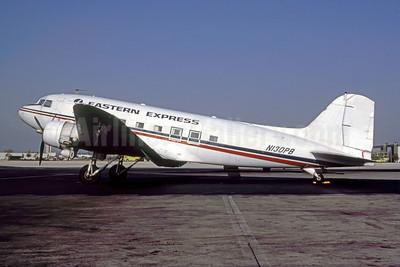 Eastern Express (PBA) Douglas DC-3-277B (DC-3A) N130PB (msn 2213) (PBA colors) MIA (Bruce Drum). Image: 105122.
