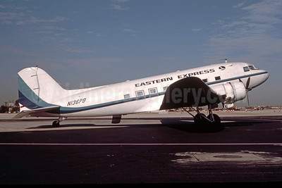 On August 27, 1981, N136PB broke the high-time DC-3 record held by ex-North Central Airlines N21728 of 84,875 hours