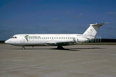 Emerald Air BAC 1-11 204AF N1120J (msn 102) IAH (Keith Armes). Image: 947183.