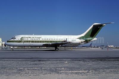 Emerald Air Freight Douglas DC-9-15F N50AF (msn 47010) MIA (Keith Armes). Image: 931285.