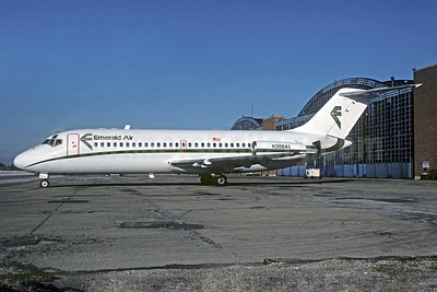Emerald Air Douglas DC-9-14 N38641 (msn 47060) MDW (Christian Volpati Collection). Image: 931283.