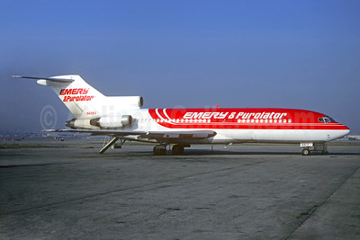 Emery and Purolator (Emery Worldwide and Purolator Courier) Boeing 727-22C N431EX (msn 19103) (Christian Volpati Collection). Image: 933608.