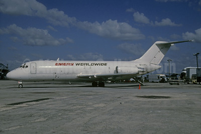 Emery Worldwide Douglas DC-9-15F N567PC (msn 47153) MIA (Bruce Drum). Image: 102727.