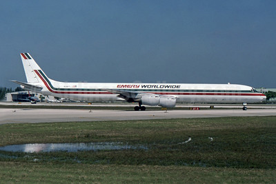 Emery Worldwide McDonnell Douglas DC-8-73CF N791FT (msn 46045) FLL (SPA). Image: 947185.