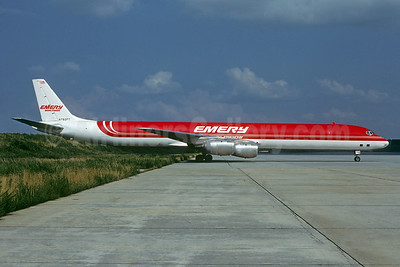 Emery Worldwide McDonnell Douglas DC-8-73 (F) N792FT (msn 46046) ATL (Christian Volpati Collection). Image: 931491.