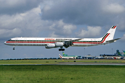 Emery Worldwide McDonnell Douglas DC-8-73CF N961R (msn 46133) DUB (SM Fitzwilliams Collection). Image: 923516.