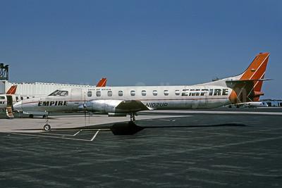 Empire Airlines (2nd) Swearingen SA226TC Metro II N102UR (msn TC-251) SYR (Bruce Drum). Image: 100935.