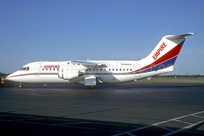 Empire Airlines (3rd) (Idaho) - NWT Air BAe 146-200 N462EA (msn E2107) (Christian Volpati Collection). Image: 940615.