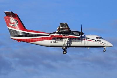 Era Alaska Bombardier DHC-8-106 N889EA (msn 322) ANC (Michael B. Ing). Image: 920368.