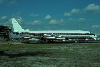 Evergreen International Airlines McDonnell Douglas DC-8-33 (F) N8245U (msn 45259) MIA (Bruce Drum). Image: 102787.