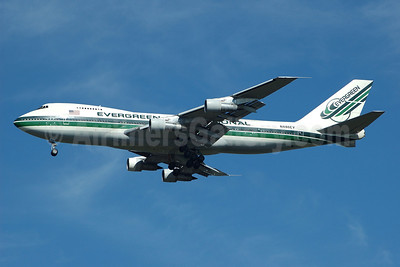 Evergreen International Airlines Boeing 747-212B (SF) N486EV (msn 20888) JFK (Bruce Drum). Image: 100423.