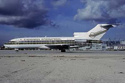 Evergreen International Airlines Boeing 727-27C N725EV (msn 19111) MIA (Bruce Drum). Image: 102788.