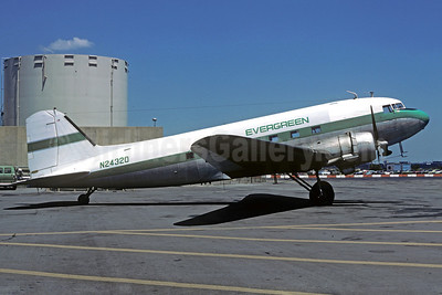Evergreen International Airlines C-47A-DL (DC-3) N24320 (msn 20197) LGA (Christian Volpati Collection). Image: 911979.