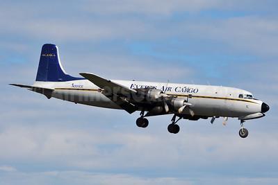 Everts Air Cargo Douglas C-118A-DO (DC-6A) N351CE (msn 44599) ANC (Ken Petersen). Image: 928201.