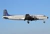 Everts Air Cargo Douglas C-118A-DO (DC-6A) N747CE (msn 44661) ANC (Michael B. Ing). Image: 928202.