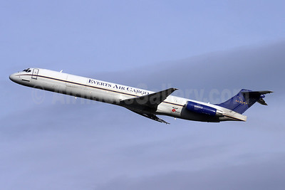 Everts Air Cargo McDonnell Douglas DC-9-82 (F) (MD-82) N961CE (msn 49470) ANC (Michael B. Ing). Image: 955424.