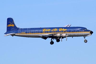 "Everts Air Cargo Douglas C-118A-DO (DC-6A) N451CE (msn 43712) ""Alaska""  ANC (Michael B. Ing). Image: 932983."