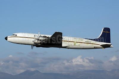 Everts Air Cargo Douglas DC-6B (F) N6586C (msn 45222) ANC (Michael B. Ing). Image: 905268.