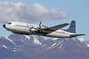 Everts Air Cargo Douglas C-118A-DO (DC-6A) N351CE (msn 44599) ANC (Michael B. Ing). Image: (27892.