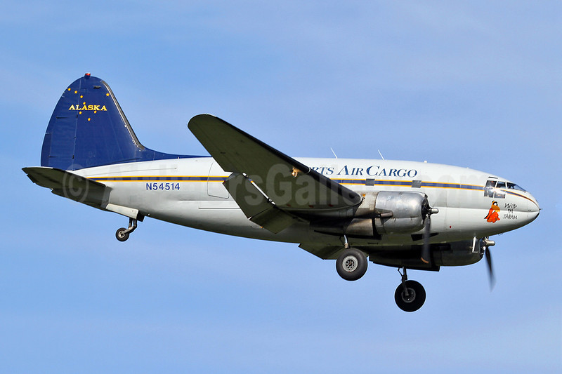 Everts Air Cargo Curtiss C-46D N54514 (msn 33285) FAI (Keith Burton). Image: 906910.