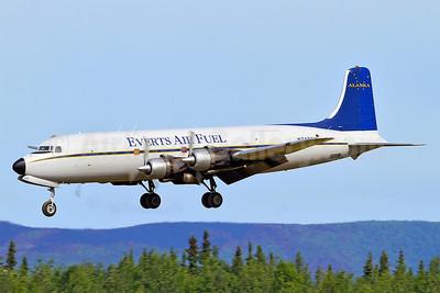 Everts Air Fuel Douglas C-118A-DO (DC-6A) N747CE (msn 44661) FAI (Keith Burton). Image: 908186.