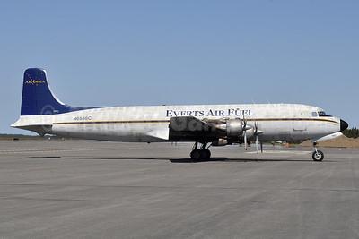 Everts Air Fuel Douglas DC-6B (F) N6586C (msn 45222) ENA (Robbie Shaw). Image: 933829.