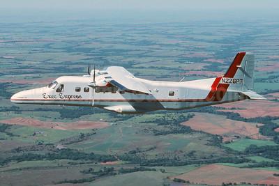 Exec Express Airlines Dornier 228-201 N226PT (msn 8122) OKC (Jay Selman). Image: 403945.