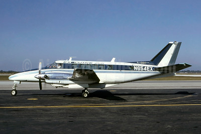 Executive Airlines (1st) Beechcraft 99A Airliner N654EX (msn U-81) TPA (Bruce Drum). Image: 105113.